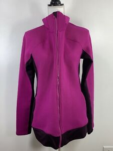 Under Armour cold gear infrared jacket knit Pink Purple Core Womens Large
