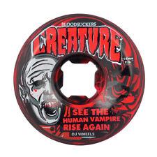 Oj 56mm Bloodsuckers Red Black Swirl 97a Skateboard Wheel