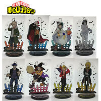 Anime  Boku no hero academia Acrylic Keychain Key Ring Race Straps Cosplay