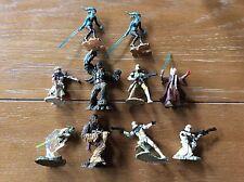 2005 Hasbro Star Wars Unleashed Mini Figure Lot Of (10)