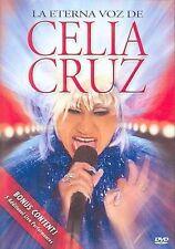 Celia Cruz: The Eternal Voice DVD English and Spanish Audio Live Concert NEW