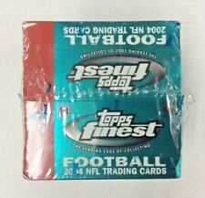 2004 TOPPS FINEST FOOTBALL HOBBY BOX - B.ROTHESLISBERGER -E.MANNING-P.RIVERS RC
