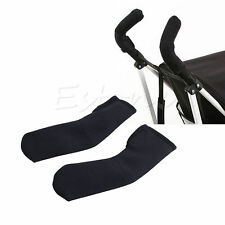 2x Baby Stroller/Pram/Buggy/Pushchair Soft Handle Bumble Bar Grip Cover Hot