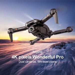 Mini Drone WiFi FPV 4K/1080P HD Dual Camera Altitude Hold Foldable RC Quadcopter