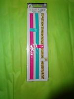 """CREATE 365 HAPPY PLANNER 4 PACK """"ELASTIC BAND / BOOKMARK / PAGE MARKERS"""""""