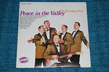 SUNSHINE BOYS Peace in the Valley NASHVILLE XIAN STEREO LP
