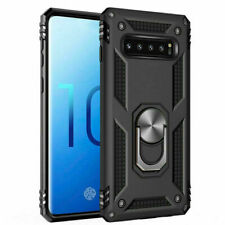 Samsung S10 Plus Shockproof Military Case Cover Armor 360 Stand Ring Holder