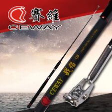Carbon Fiber Fishing Rods Trolling Stick Rod Troll Pole Boat Light Poles 1.2m