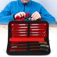 9X Pistol Cleaning Kit Carrying Case for Kit Caliber Hand Guns 22 357 38 9mm 40