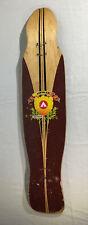 """Vintage Airwalk Longboard Wood Skateboard Deck 42"""" Long"""