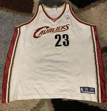 Men's Authentic LeBron James Cleveland Cavaliers Jersey Size 56