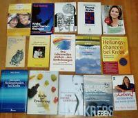 15 Bücher Krebs Heilung Methoden Psyche Zuversicht Erfahrungen Ratgeber gesund