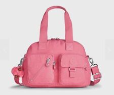 KIPLING DEFEA Handbag Travel Shoulder CrossBody Bag Scallop Pink HB3170 6AD