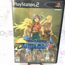 USED PS2 PlayStation 2 WILD ARMS Alter code: F 70024 JAPAN IMPORT