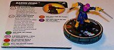 BARON ZEMO 051 Superior Foes Of Spider-Man Marvel HeroClix Super Rare