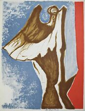 """Lithography Lithographie Litografia Marcello MASCHERINI """"VITTORIA"""" 1/10"""