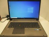 HP Elitebook 8770W i5-3320M 2.6GHZ 8GB 240GB SSD Windows 10