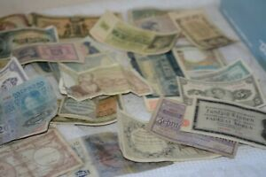 Lot of European Currency/Paper money from 1920's