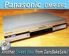 Panasonic DMR-E60GK DVD Video Recorder Player CD MP3 JPEG - Tested Works Great!