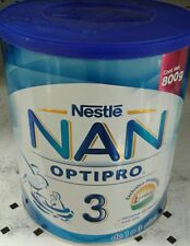 NESTLE NAN OPTIPRO 3 - LARGE 800G Can - FREE PRIORITY SHIPPING IN THE U.S.A.