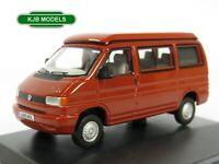 BNIB OO GAUGE OXFORD DIECAST 1:76 76T4001 VW T4 Westfalia Camper Paprika Red Van