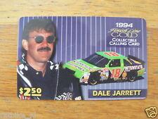PHONECARD FINISH LINE GOLD DALE JARRETT INTERSTATE 1994 CAR