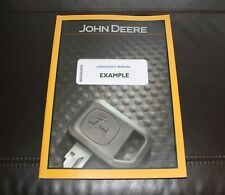 JOHN DEERE 870GLC EXCAVATOR OPERATORS MANUAL