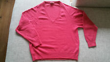 Hennes Collection by H&M Pulli Pullover 36 S rot rosa Lammwolle Angora NP 80€
