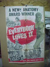 EVERYBODY LOVES IT, orig 1-sht / movie poster - Adults Only