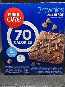Fiber One Brownies 70 Calorie Bar Chocolate Fudge 6 Count Keto Friendly 5g net