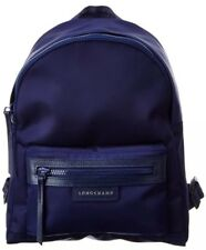 Longchamp Le Pliage Small Neo Nylon Backpack Navy 100% Authentic NWT