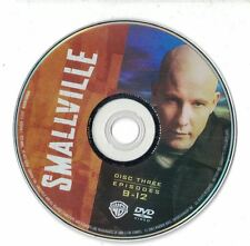 Smallville Season 1 Disc 3 Replacement DVD Disc Episodes 9-12 Not Full Series