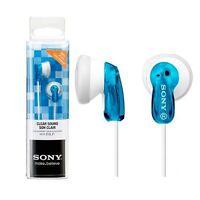 Auriculares botón Sony  MDR-E9 azul Cascos Headphones calidad/precio