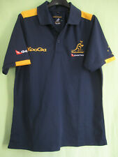 Polo Rugby Kooga Australie Wallabies Qantas Jersey Marine Vintage - S
