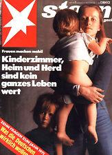 Magazin STERN  Nr 1 von 1975, Mit Abitur am Amboss; Luc Bondy; Emanzipation uvm.
