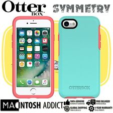 OtterBox Symmetry Slim Rugged Protection Case For iPhone 7 TEAL | Screen Bumper