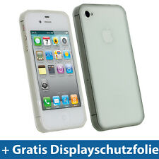 Transparent Klar TPU Gel Tasche für Apple iPhone 4S 16GB 32GB 64GB Schutz Hülle