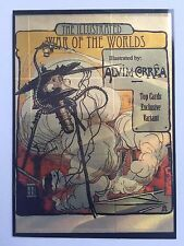 2016 Cult Stuff ILLUSTRATED WAR OF THE WORLDS TOPCARDS Exclusive Foil Promo Card