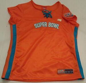 NFL For Her SUPER BOWL 41 XLI Jersey Size Women's XL NWOT Cheerleader Shirt
