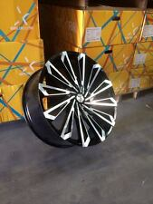 "28"" Inch BLACK & MACHINE Starr 469 SKS Rims Wheels 22 24 26 30 32Rockstarr"