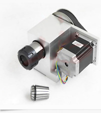 CNC Milling Machine Part Tool A Axis Rotary Collet 4th Harmonic Wave Driver