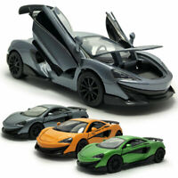 McLaren 600LT Sports Car 1:32 Model Car Metal Diecast Toy Vehicle Kids Gift