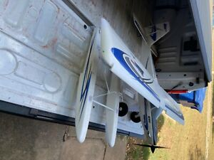 E-Flite 1.5m Timber Turbo BNF with floats