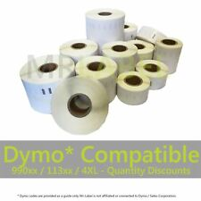 More details for dymo seiko compatible self adhesive labels - all types - fast free uk shipping