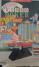 Las Vegas video poker Commodore c64/Atari XL XE (Disk, manual, Box) 100% ok