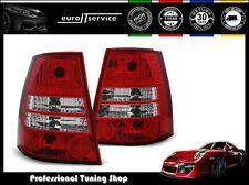 NEUF 2 FEUX ARRIÈRE ENSEMBLE LAMPS LTVW93 VW GOLF 4 / BORA 1999-06 VARIANT RED