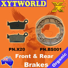 FRONT REAR Brake Pads Shoes KYMCO Top Boy 100 On road & off road models 1997