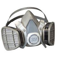 3M 21577 Half Facepiece Disposable Respirator 5301 Organic Vapor, Large