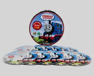 Sealed & New Thomas The Tank & Friends DVD Tin Case Complete Seasons 1-10  Rare