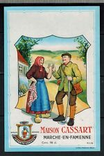 Ancienne Etiquette - Alcool - Maison Cassart  -Marche-En-Famenne - N°365